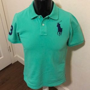 Boys Short Sleeve Ralph Lauren Polo!